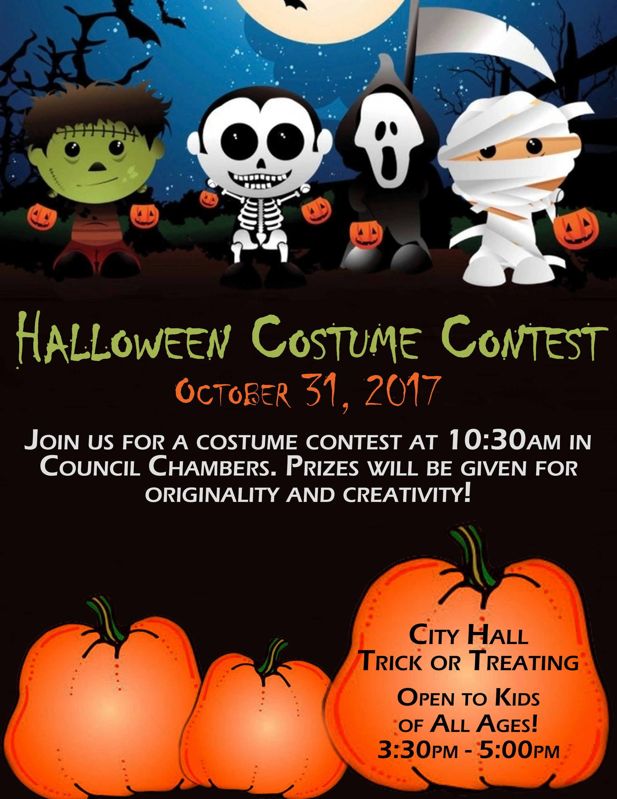 Halloween Contest Flyer