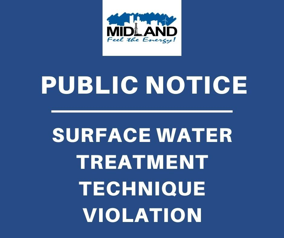 Link to Surface Water Treatment Technique Violation Notice